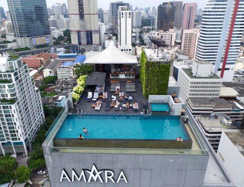Amara Hotel Bangkok (หลังคาผ้าใบแรงดึงสูง)